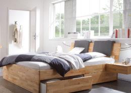 Hasena Massivholzbetten mit Bettkästen bei BeLaMa
