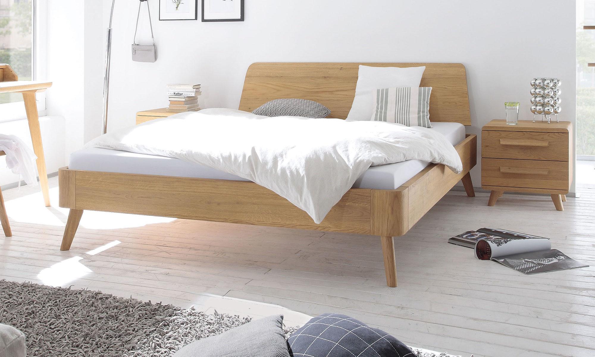Hasena Oak-Bianco Massivholzbett Modul 18 Masito Edda - belama-berlin.de
