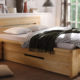 Woodlive Casetta, Bett mit Bettkästen bei BeLaMa in Berlin