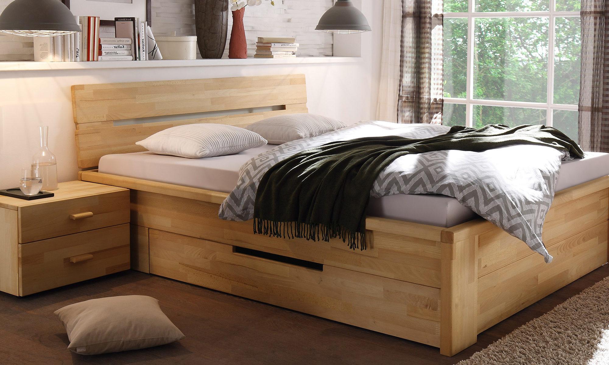 woodlive massivholzbett casetta belama. Black Bedroom Furniture Sets. Home Design Ideas